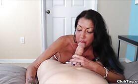Step Mom Suck Off - Nadia Night